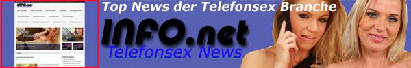 9 Telefonsex Infokanal - Top News der Telefonerotik